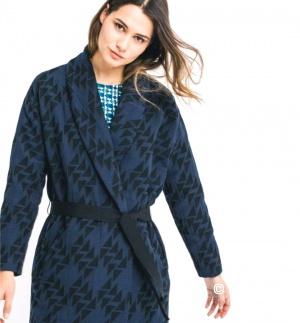 Жакет-кардиган-легкое пальто Promod x Elise Chalmin  oversize