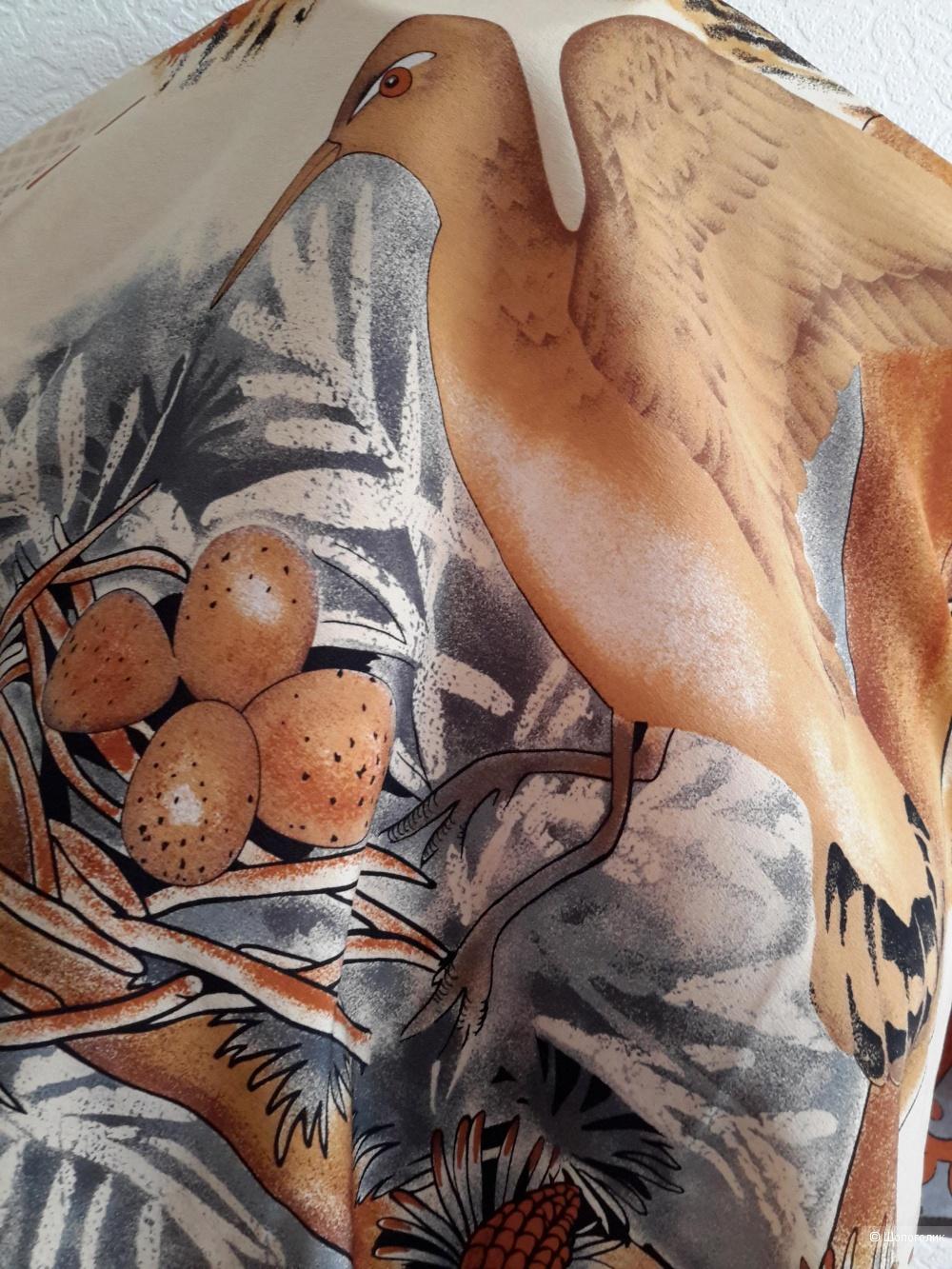 Шёлковый платок Tino Lauri, размер 75*70 см.