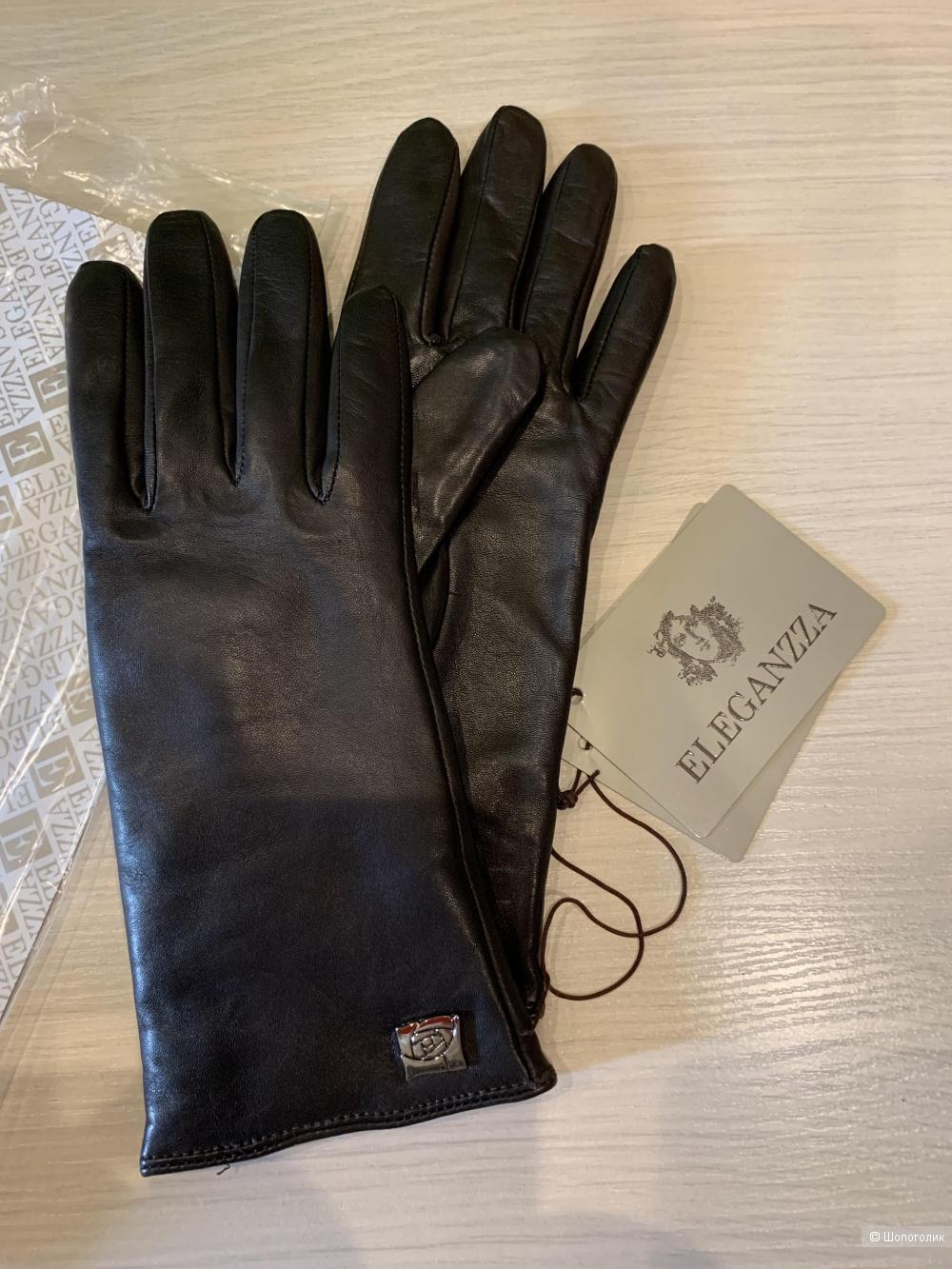 Перчатки ELEGANZA, размер 6,5