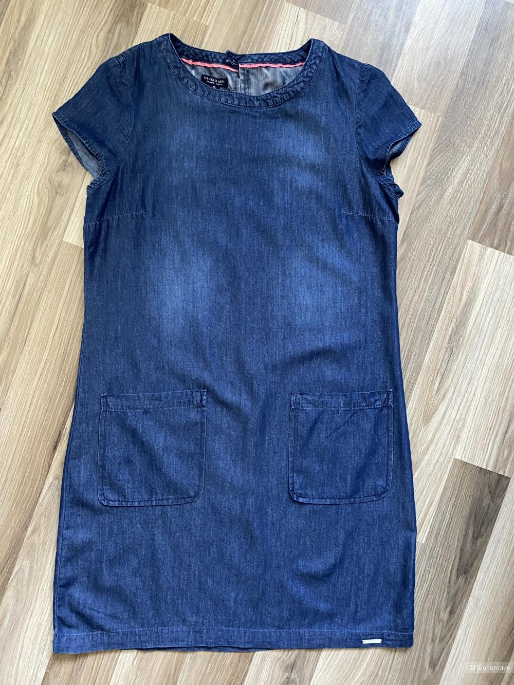 Джинсовое платье  US. Polo Assn размер М
