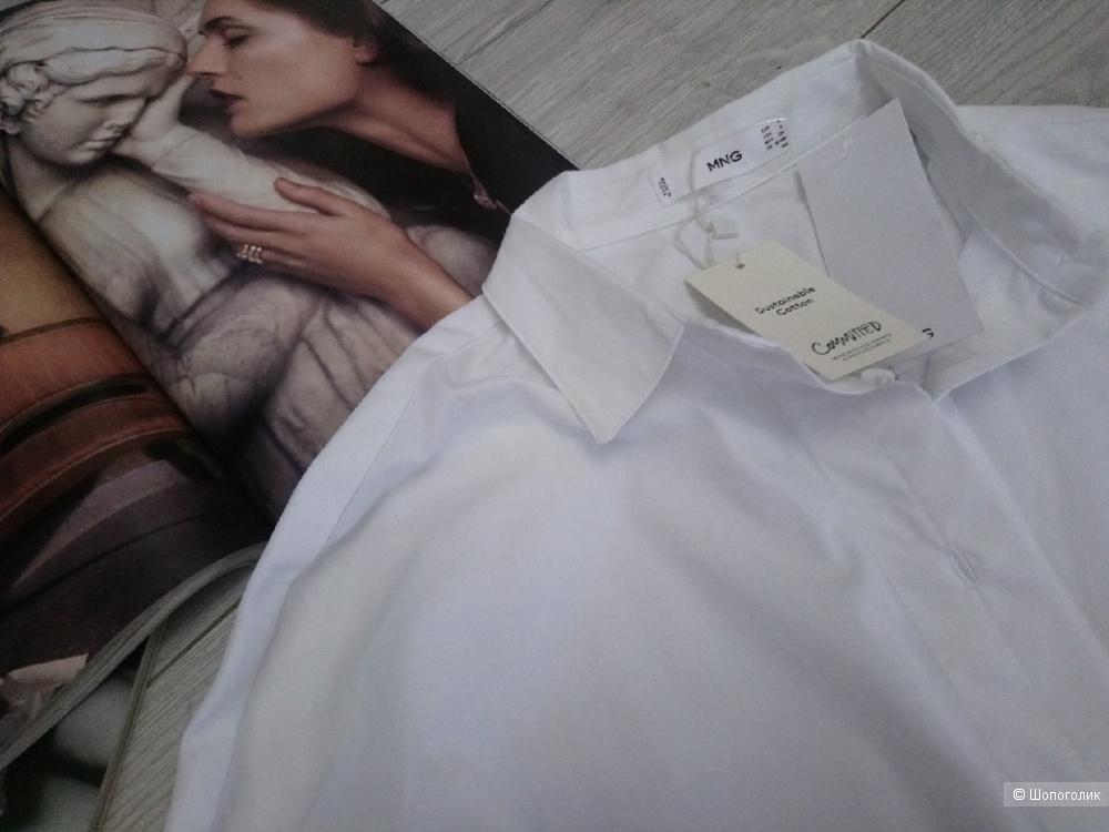 Рубашка бойфренда mango Committed, размер оверсайз s/m/l