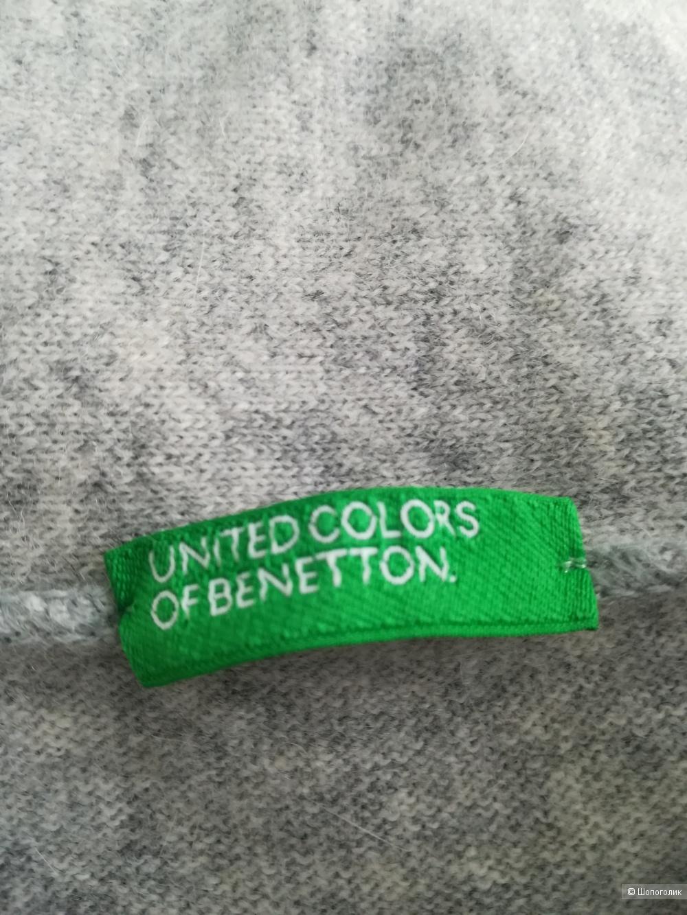 Платье шерсть Benetton,M