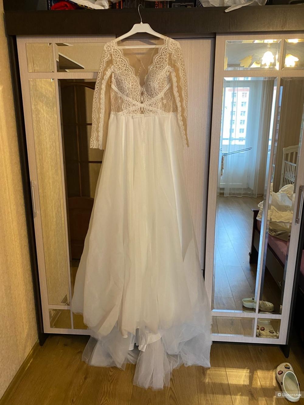 Свадебное платье ANNA KUZNETCOVА, 44 размер