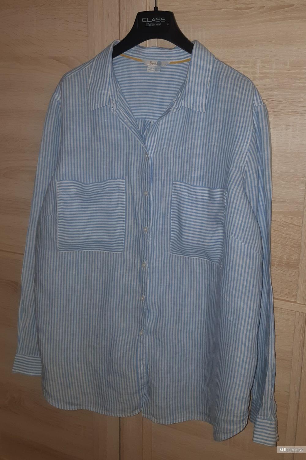 Льняная рубашка Boden размер L/XL