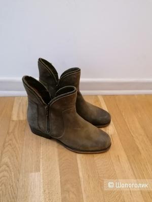 Кожаные ботинки Bronx размер 39