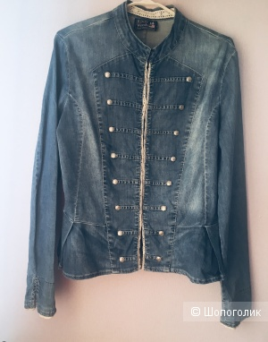Джинсовка куртка пиджак River Woods размер 46-48