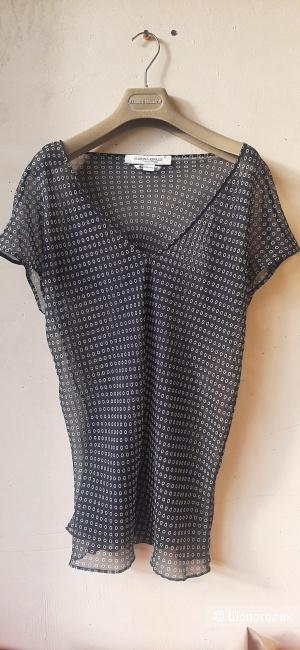 Шелковая блуза Marina Rinaldi, 25 на 50-56