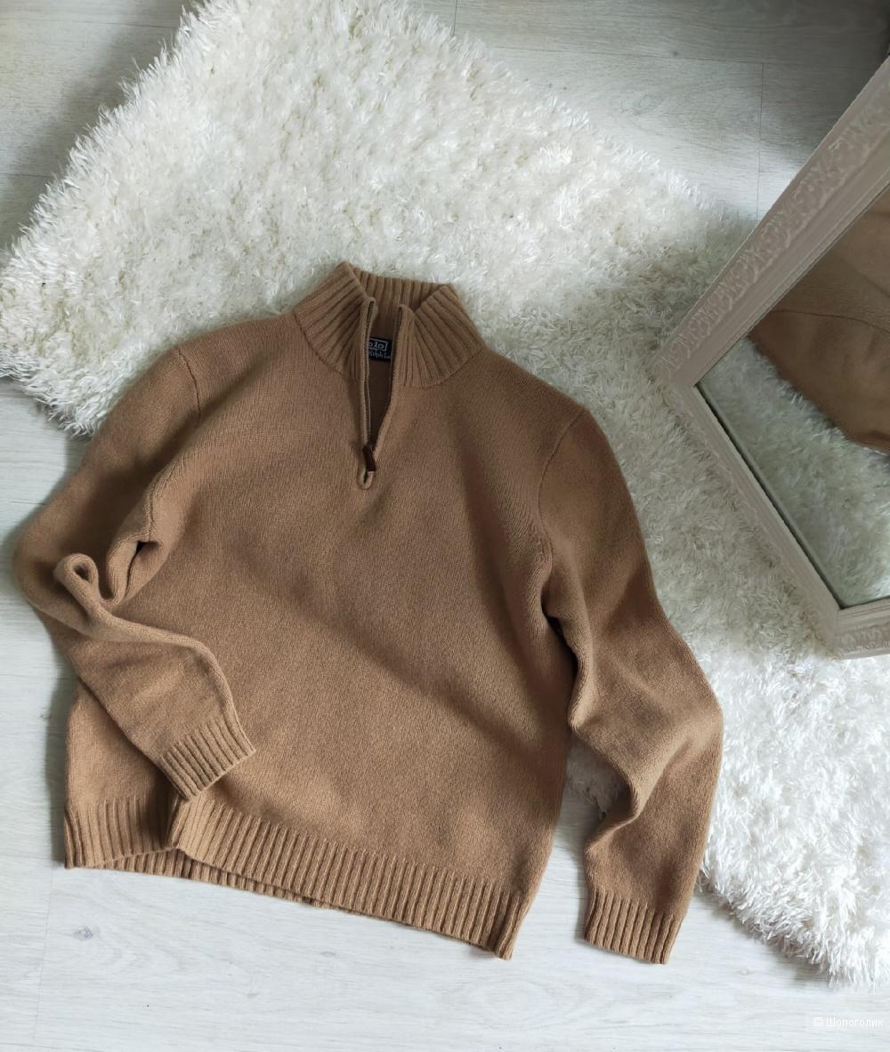 Шерстяной свитер Polo by Ralph Lauren размер XL