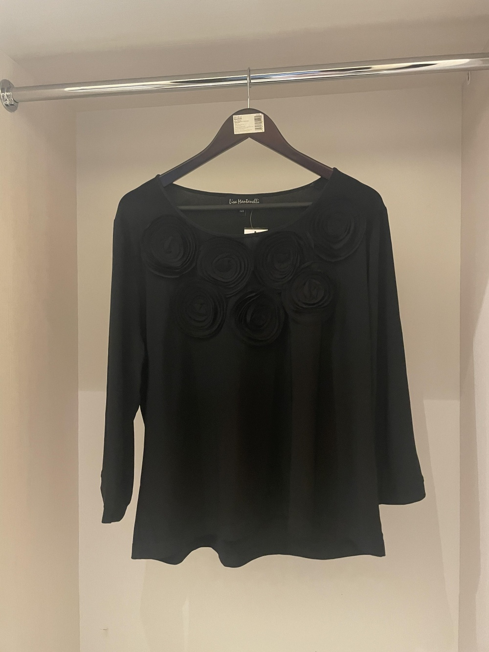 Блуза Liza Mantanelli,р-р 48