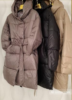 Пальто одеяло стеганое Caramel Coat, 42-48