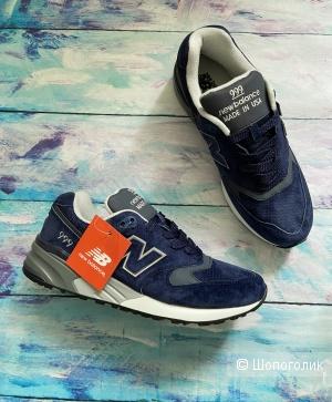 Мужские кроссовки New balance р.41-46, натуральные