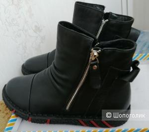 Женские демисезонные ботинки MADELLA 37 РАЗМЕР.