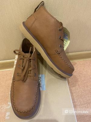 Ботинки кожаные TOMS для мальчика 36 размер