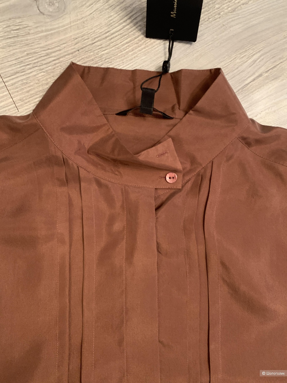 Блузка шелковая Massimo Dutti, р.50 рос.