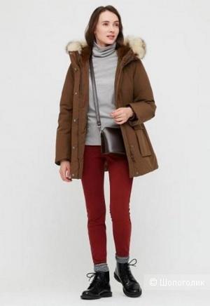 Ультратеплое пальто Uniqlo  S\M