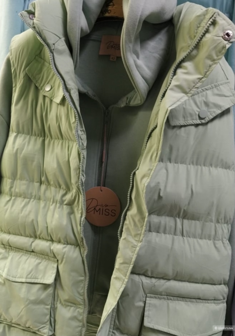 Костюм спортивный с начесом DIVa MISS zip, 42-50