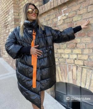 Пуховик пальто зима THEBLACKSTRIPE, oversize