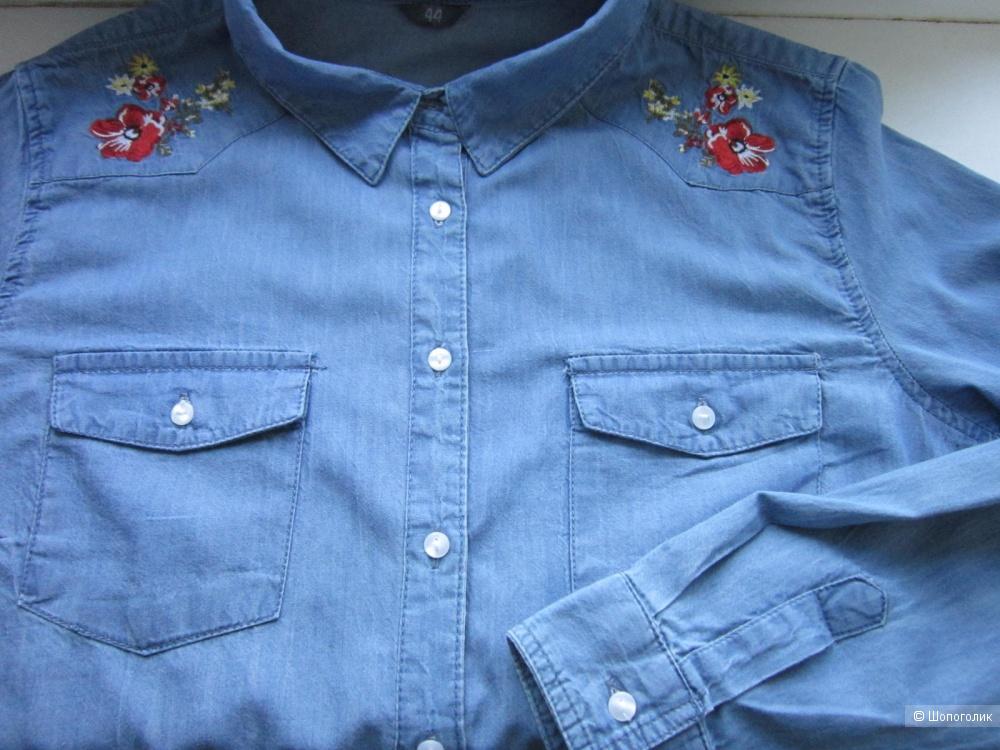 Джинсовая рубашка, Zeeman textiele supers, 48/52, XL, размер.