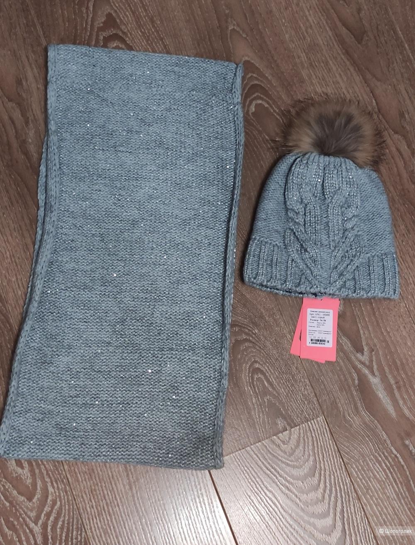 Комплект шапка и снуд, Angelcaps