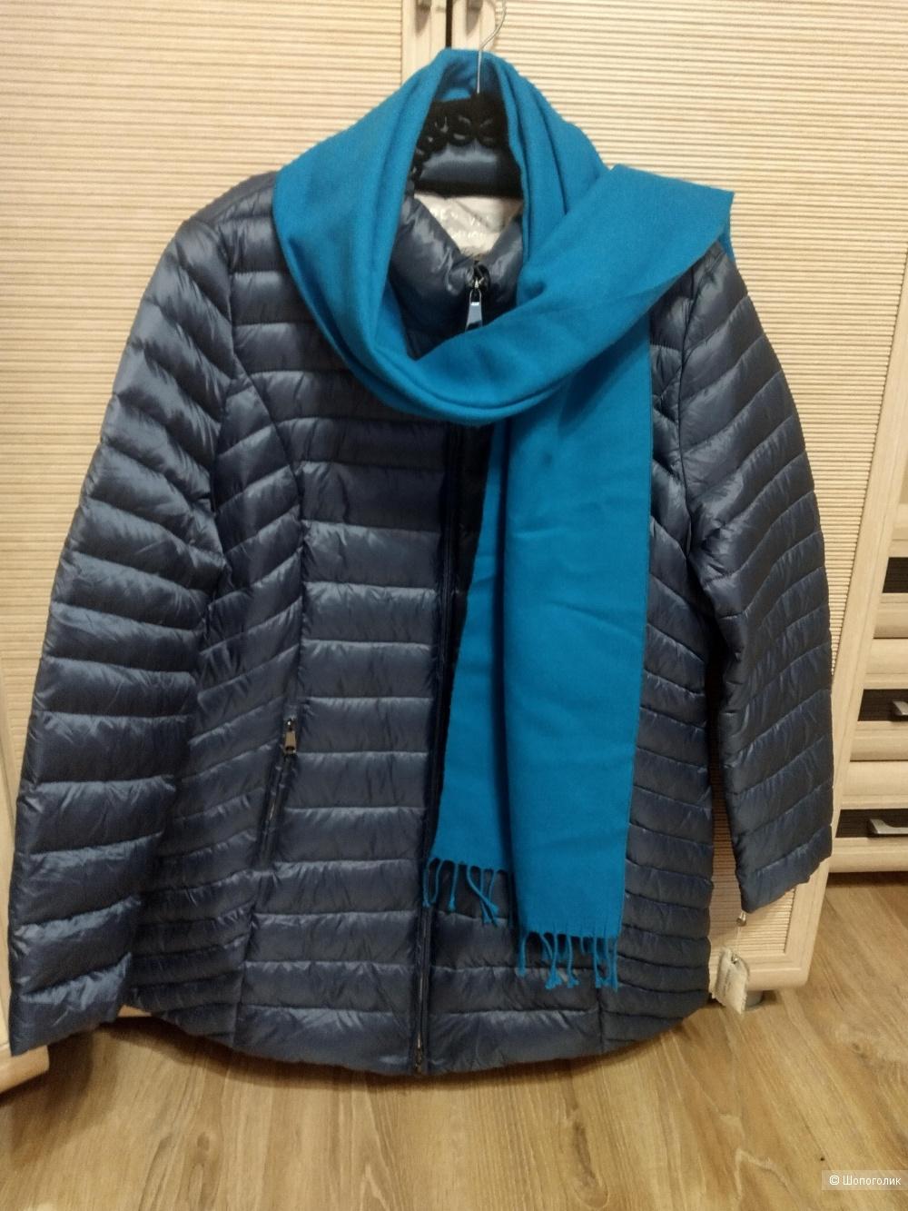 Куртка gerry weber 100пух 50-52,54