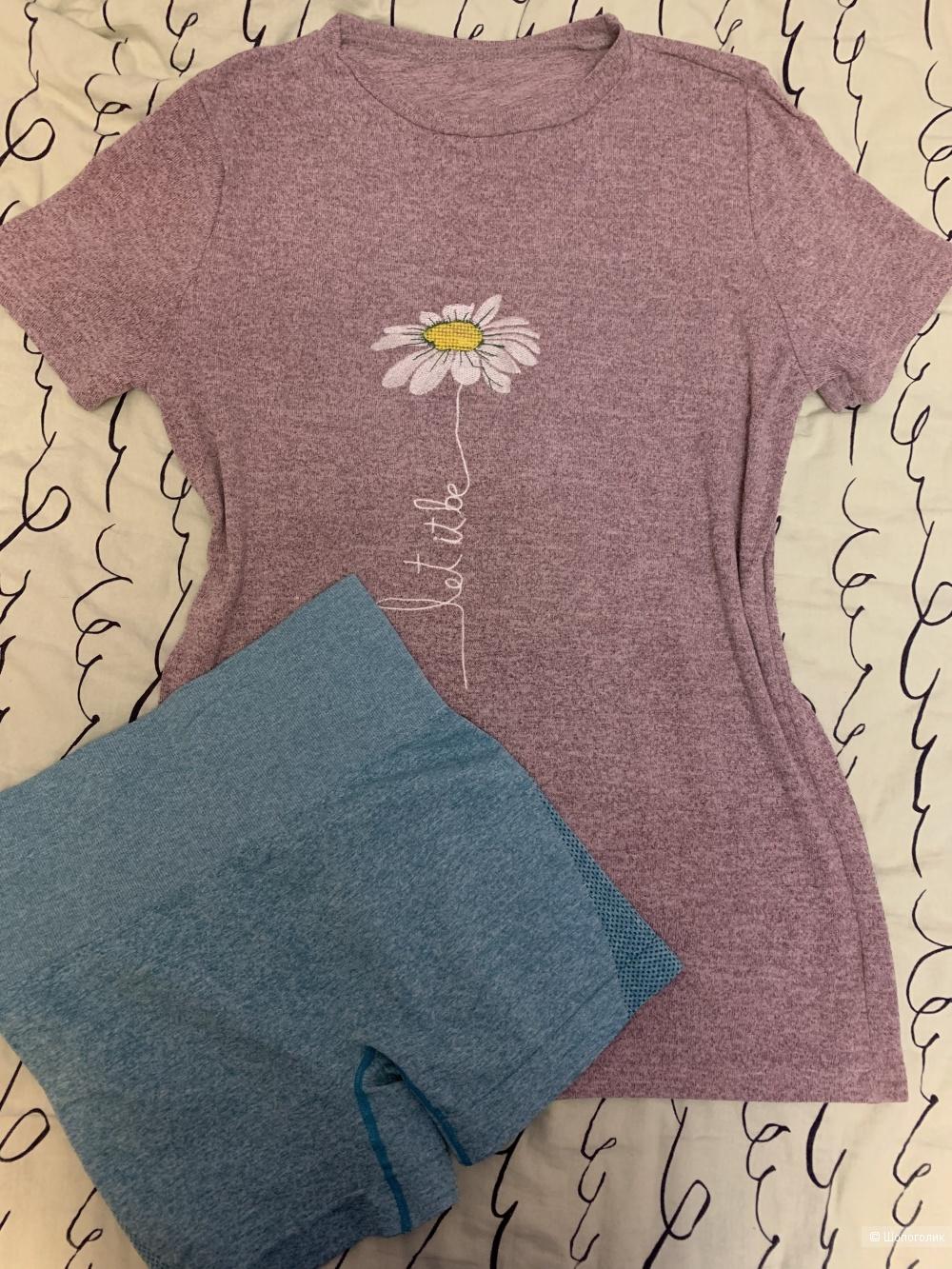 Сет, футболка+шорты, no name, 42/44/46 разм.