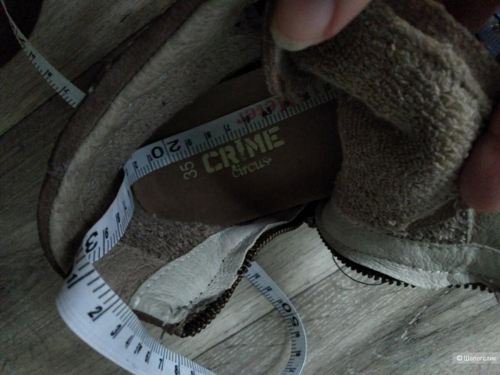 Crime Circus,  высокие кеды, 35рр