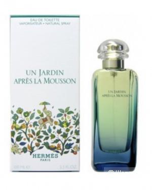 Туалетная вода Hermes Un Jardin Apres La Mousson 100ml