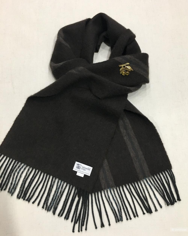 Кашемировый шарф Johnstons of Elgin