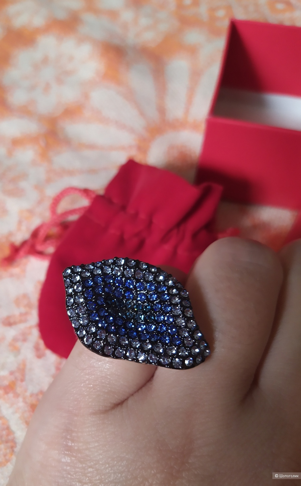 Кольцо Florange Мистик, 16 размер
