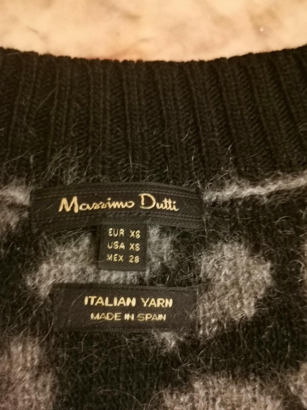 Свитер Massimo Dutti, oversize
