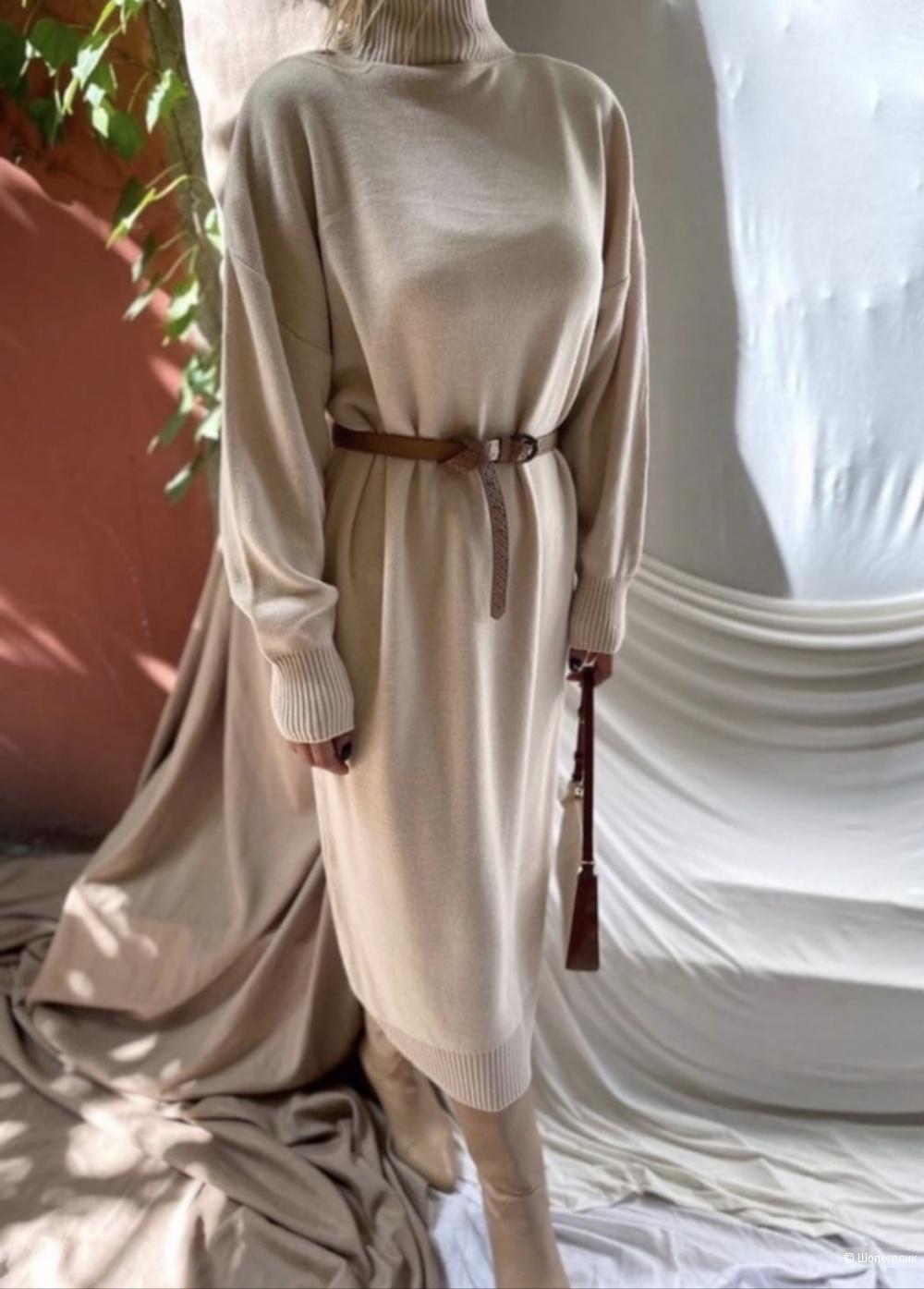 Платье свитер трикотажное MELISSA,42-48
