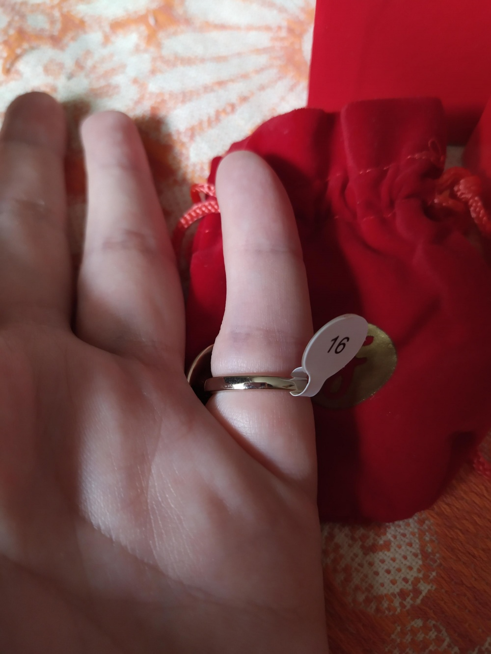 Кольцо Florange Палетт, 16 размер
