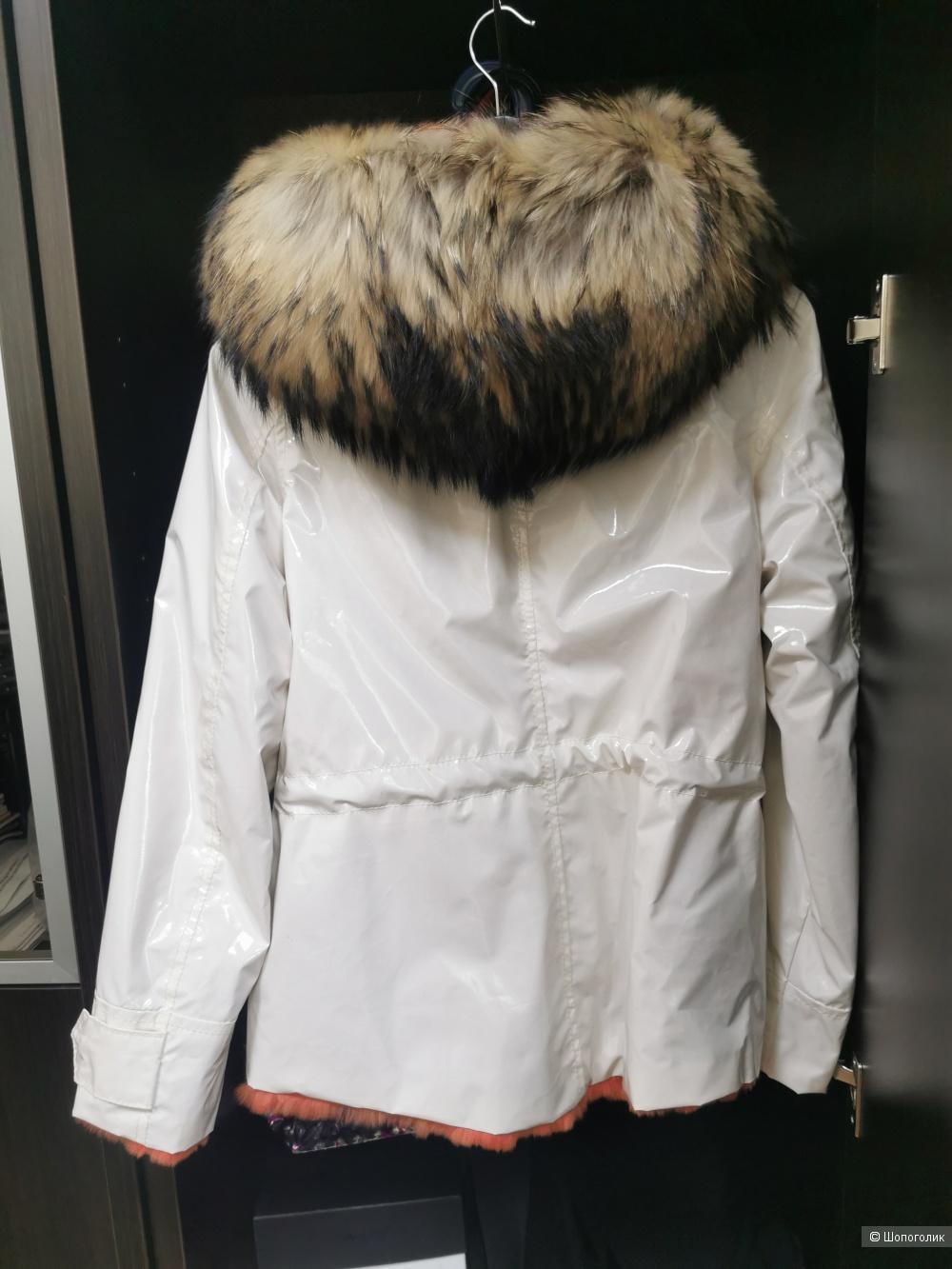 Flo&Clo куртка двухсторонная, размер 42-44