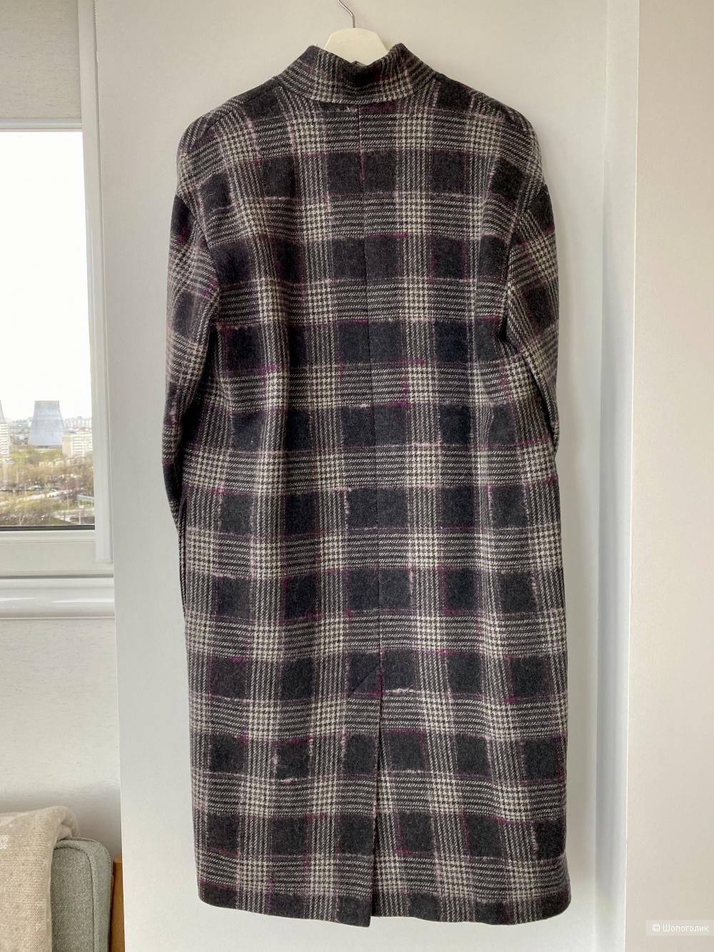 Пальто шерстяное утепленное Skoromnaya Atelier RU44