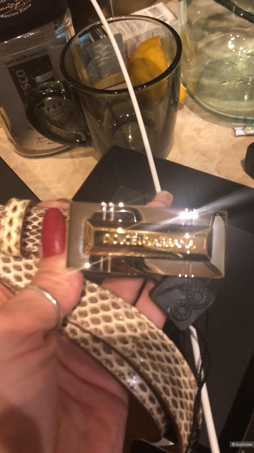 Ремень Dolce&Gabbana 90 см