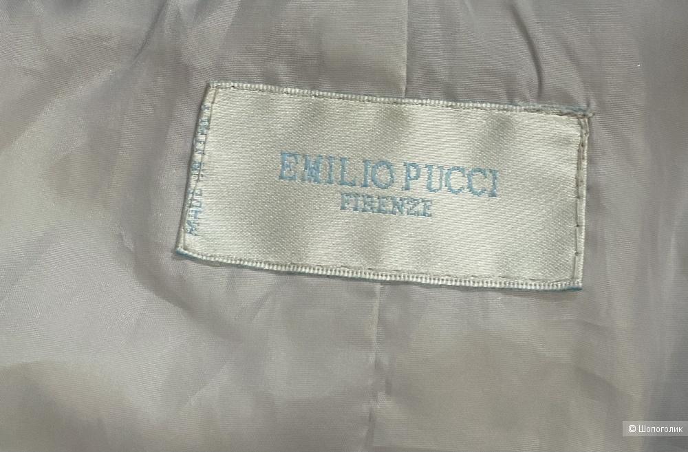 Пуховик Emilio Pucci, размер s-m.