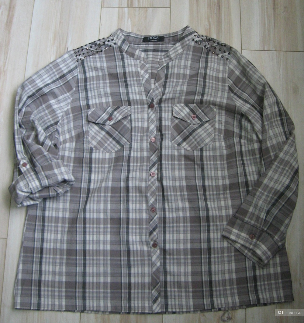 Сет 2 рубашки, Moda at George и s.Oliver, 52-54 рус