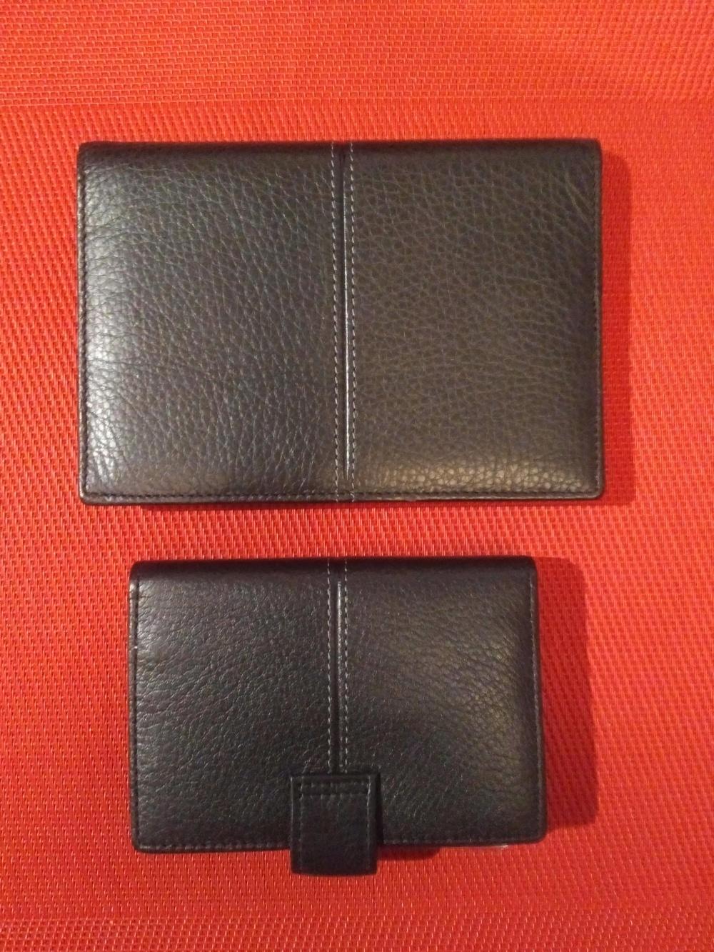 Обложка для документов и визитница бренда Eleganzza, размеры: 14,0 х 9,5 см и 10,5 х 7,0 см