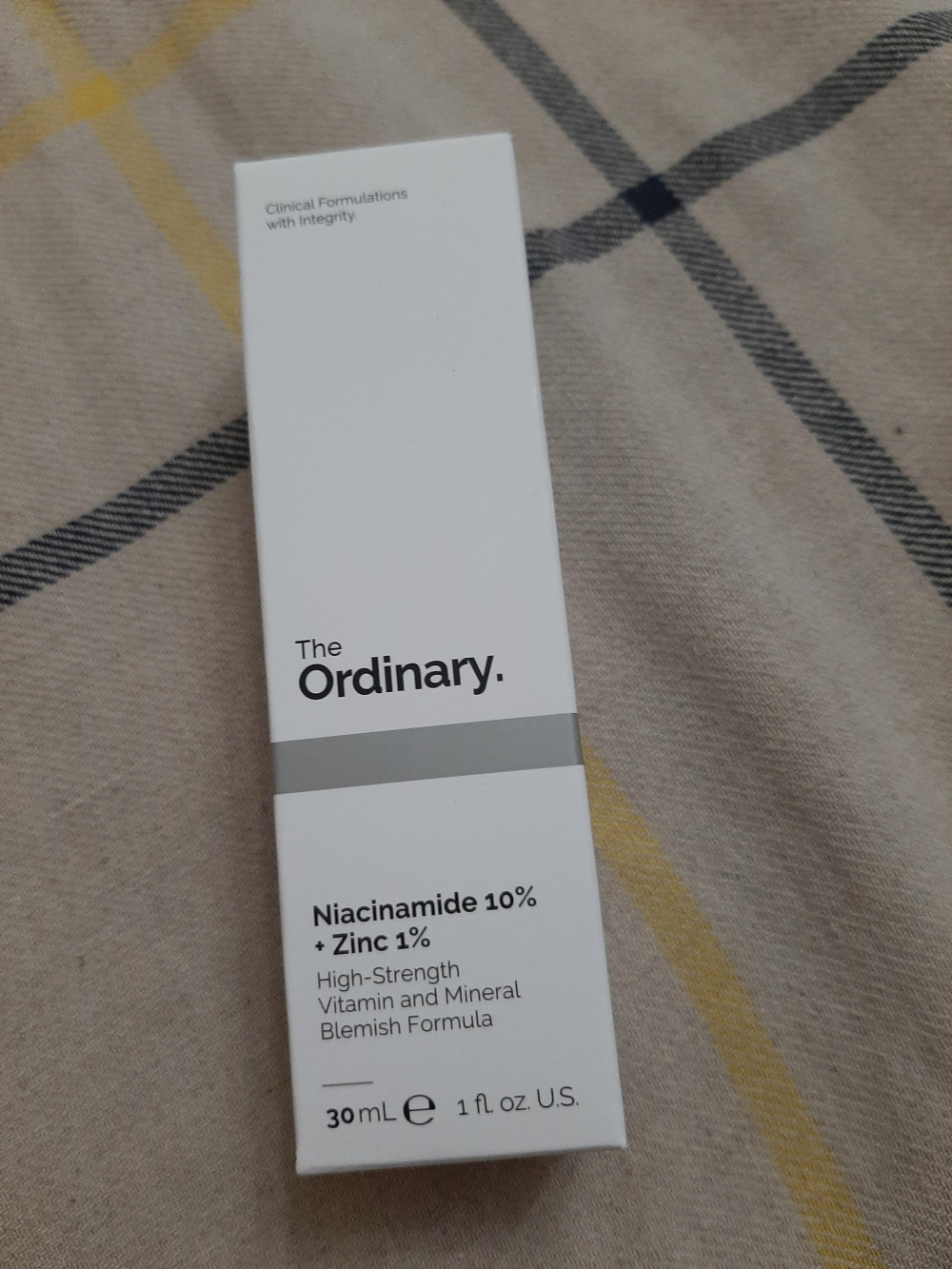 Сыворотка The ORDINARY Niacinamide 10%+ Zink 30 ml