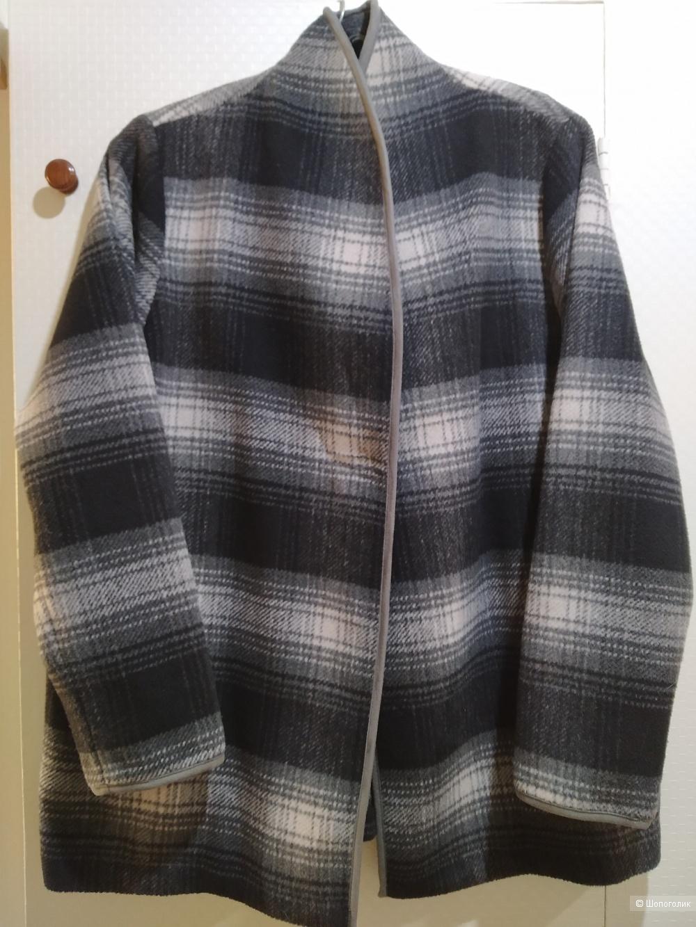 Пальто hm размер 48