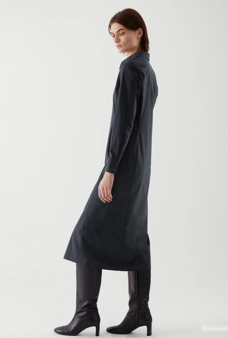 Платье-рубашка cos, размер 42/44,44,46