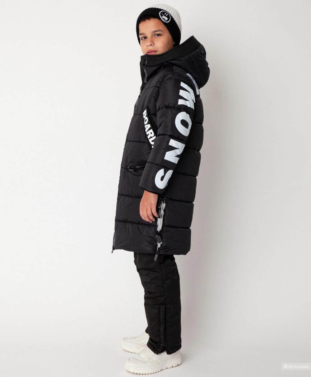 Пальто зимнее Gulliver 134 размер