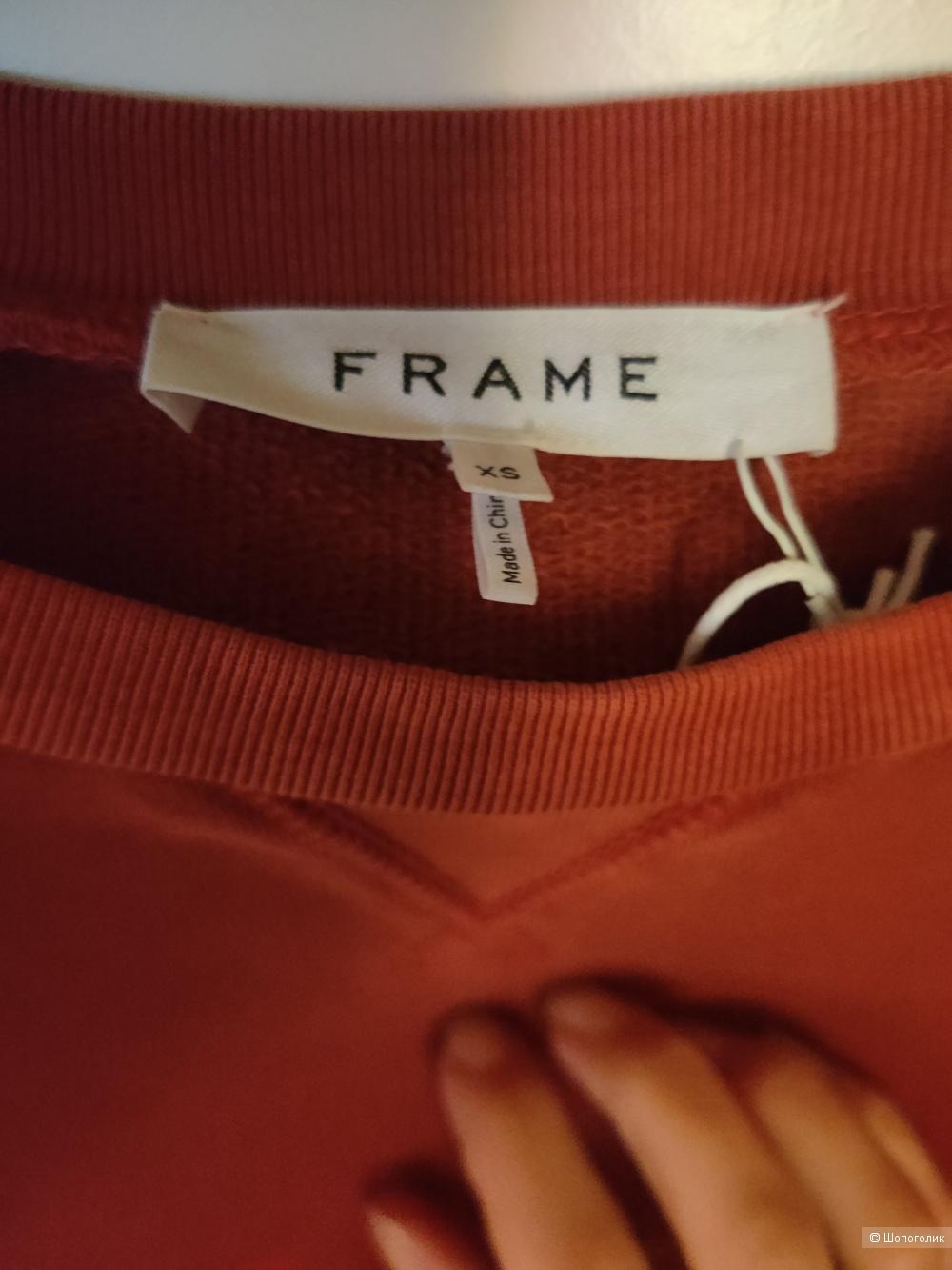Свитшот Frame размер xs
