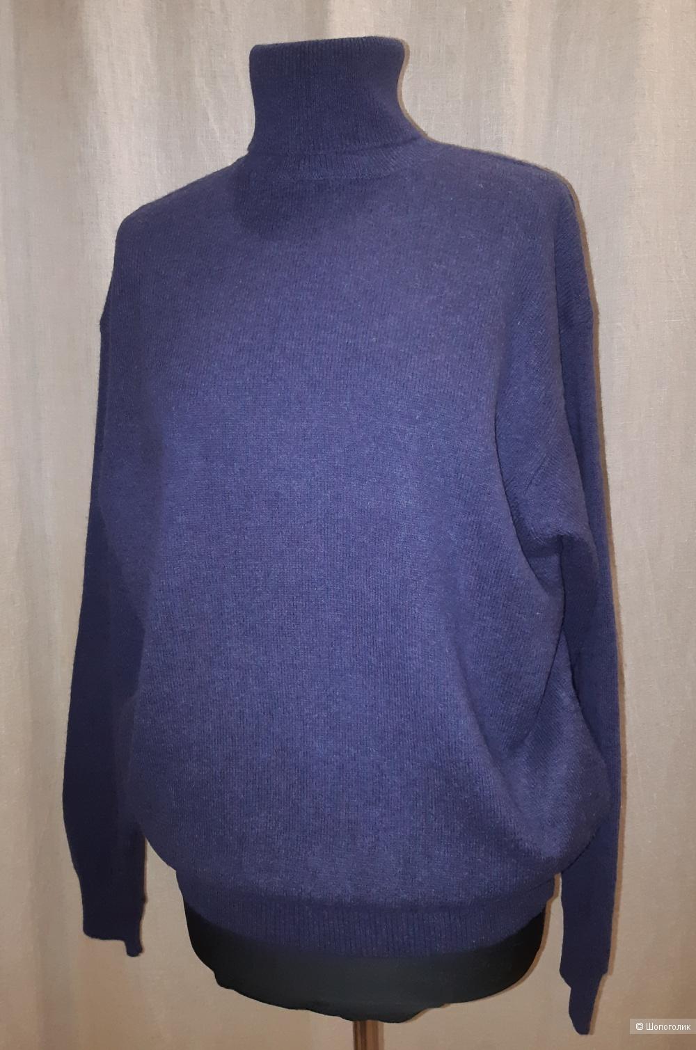 Шерстяной свитер benetton, размер 46/48/50/52