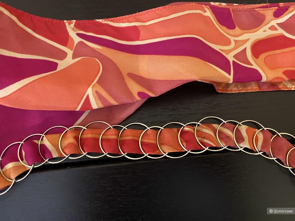 Шелковый ремень-платок Armani Exchange