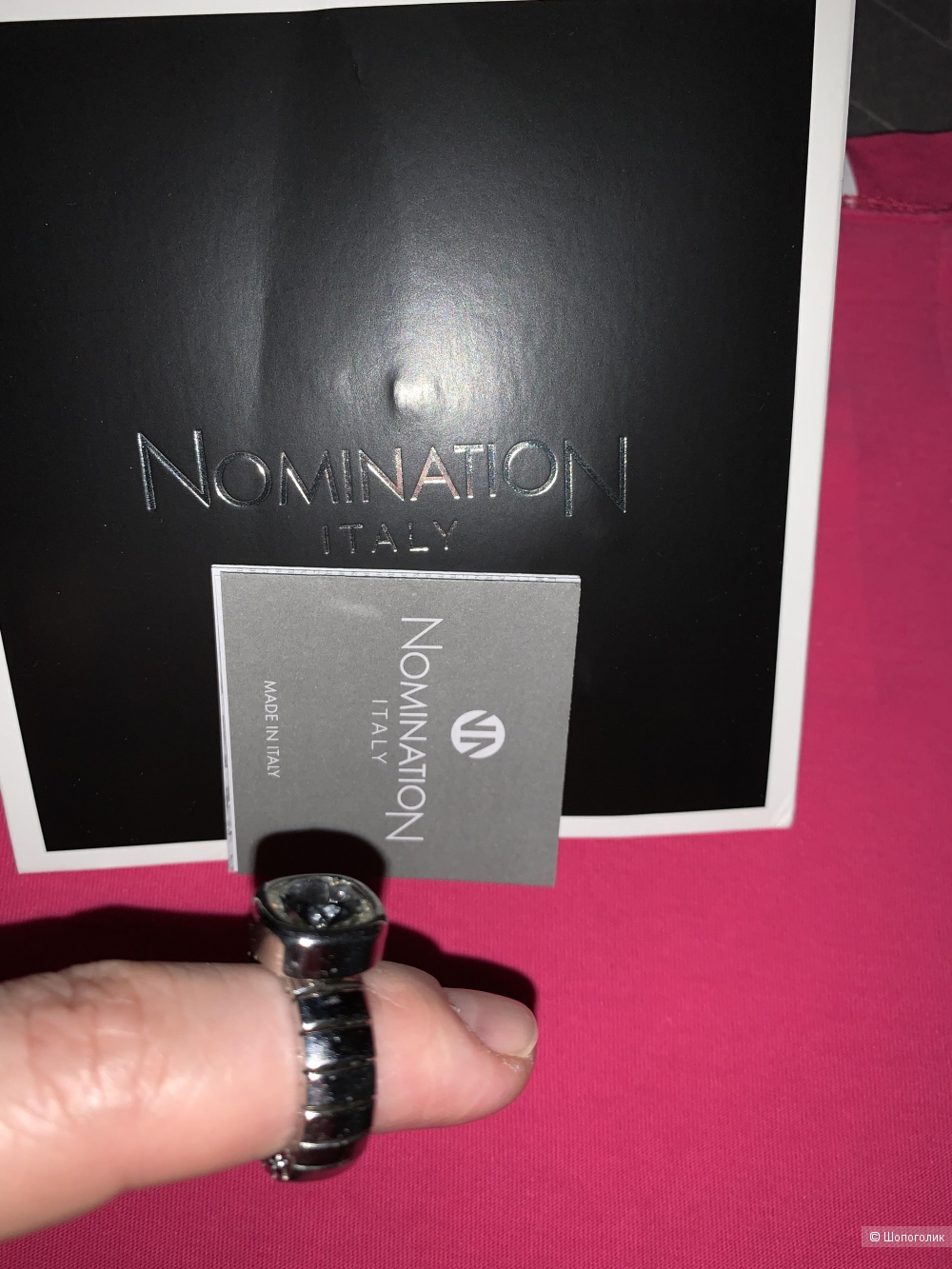 Кольцо Nomination, Италия