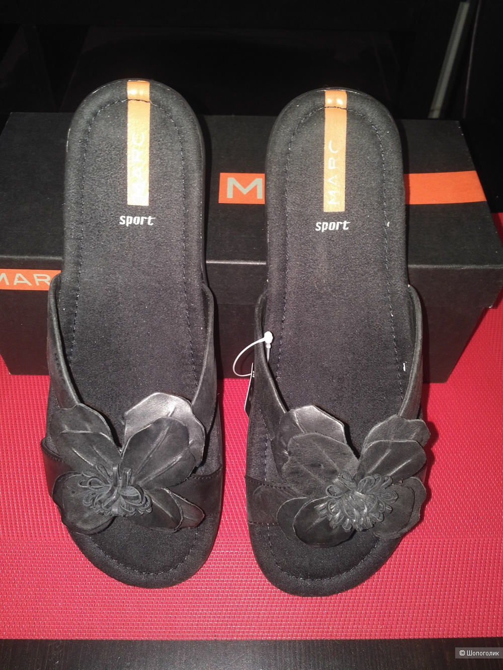 Шлепанцы женские бренда Мarc, размер 39