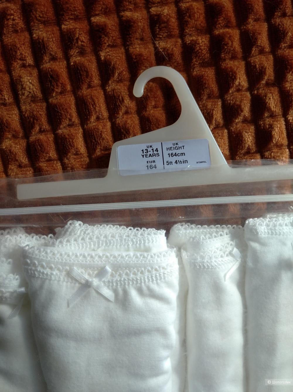 Трусики-шортики на девочку 13-14 лет (164), 7 шт., Marks and Spencer