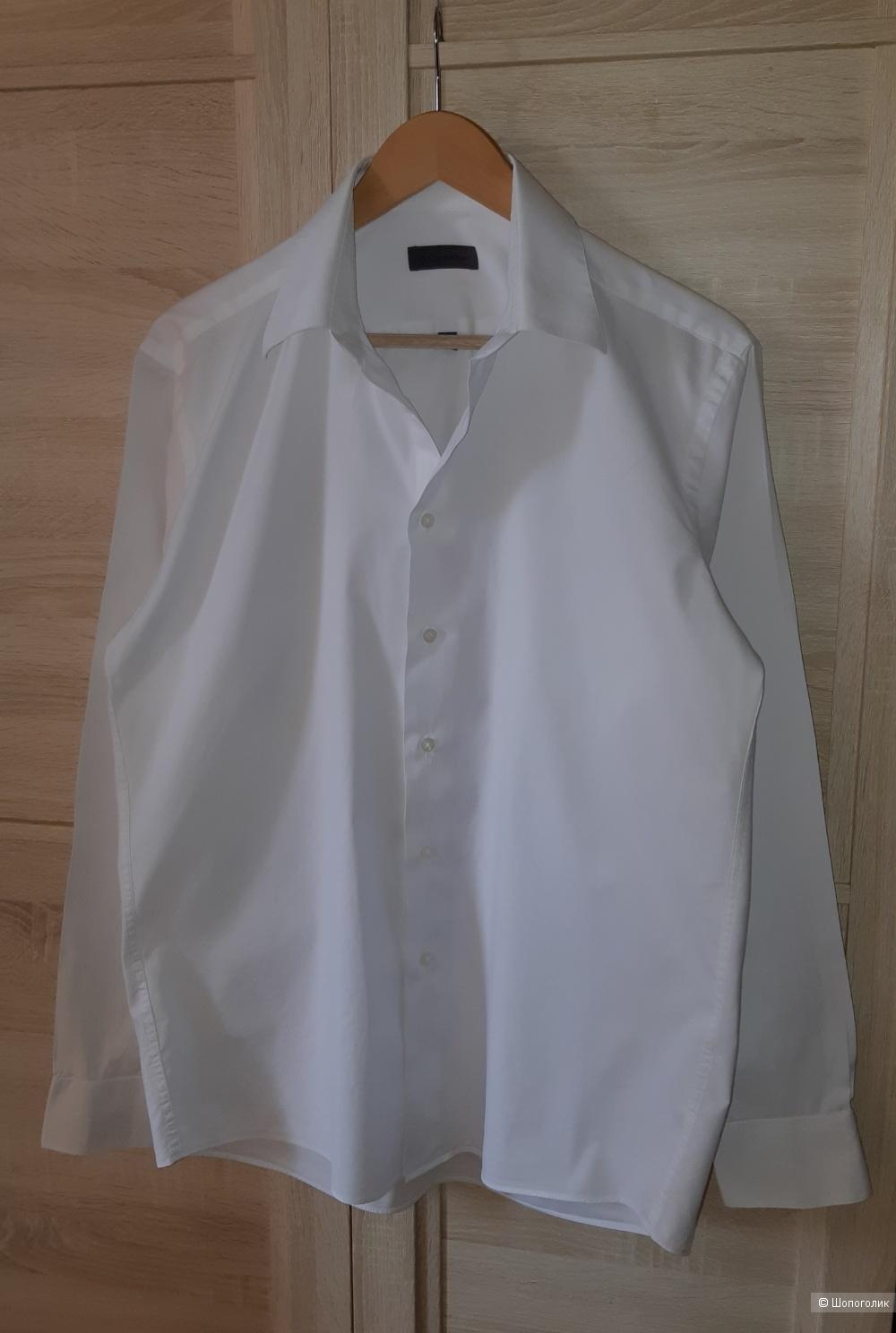 Белая рубашка calvin klein, размер l