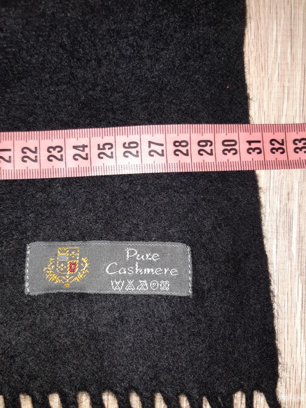 Кашемировый шарф pure cashmere, размер 30*160
